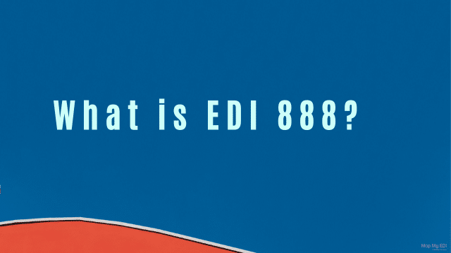 what is edi 888 document