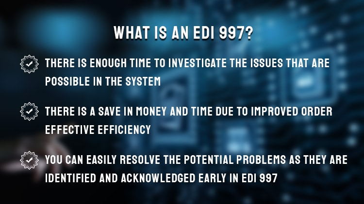 Electronic Data Interchange(EDI) 997
