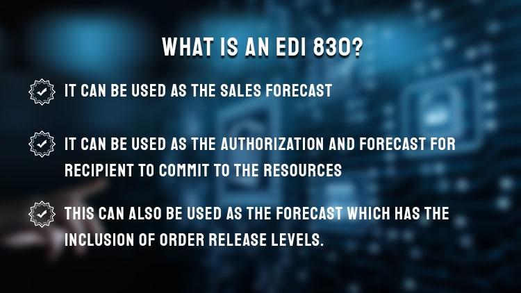Electronic Data Interchange 830